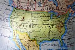Estados Unidos Fotografia de Stock