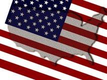 Estados Unidos ilustração royalty free