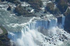 Estados Unidos aéreo de Niagara Falls do tiro Fotografia de Stock