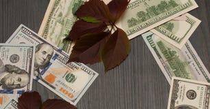 Estados Unidos da América e sua moeda, o dólar Foto de Stock Royalty Free