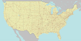 Estados Unidos da América exato do vetor, exato altamente detalhado ilustração do vetor