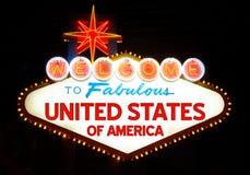 Estados Unidos de América Imágenes de archivo libres de regalías