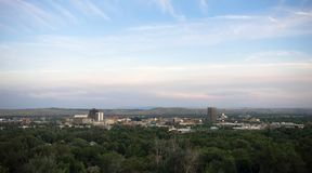 Estados Unidos de Bozeman Montana Downtown City Skyline North América imagens de stock