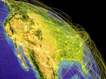 Estados Unidos del espacio ilustración del vector