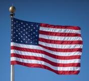 Estados Unidos embandeiram Imagens de Stock