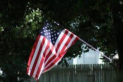 Estados Unidos embandeiram Fotos de Stock Royalty Free