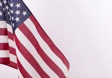 Estados Unidos embandeiram Fotos de Stock