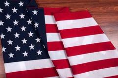 Estados Unidos embandeiram Símbolo americano Fundo do grunge da independência Day Imagens de Stock Royalty Free