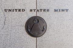Estados Unidos Mint Fotos de archivo libres de regalías
