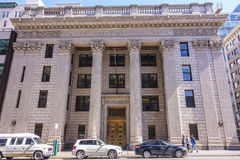 Estados Unidos National Bank en Portland - PORTLAND/OREGON - 15 de abril de 2017 imagenes de archivo