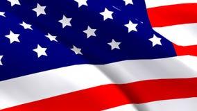 Estados Unidos señalan por medio de una bandera libre illustration