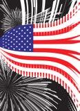 Estados Unidos vector el indicador Fotos de archivo