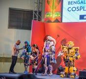 Estafa cómica Bangalore fotos de archivo