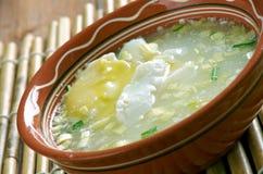 Estafa Huevo de Changua Imagen de archivo