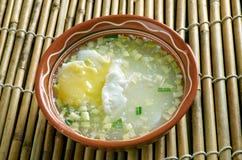 Estafa Huevo de Changua Foto de archivo