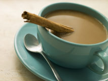 Estafa Leche del café Imagen de archivo