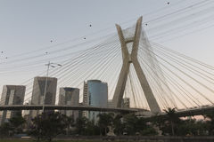 Estaiada bridge, Sao Paulo, SP, Brazil Stock Photography