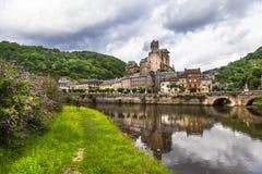 Estaing-  France (Aveyron) Royalty Free Stock Photo