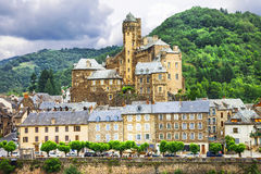 Estaing. France Stock Photo
