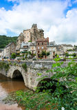 Estaing Village Royalty Free Stock Image