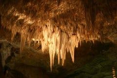 Estalactitas de las cavernas de Carlsbad Foto de archivo libre de regalías