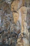 Estalactitas en cueva Imagen de archivo