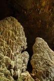A estalactite da caverna Foto de Stock Royalty Free