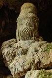 A estalactite da caverna Imagem de Stock