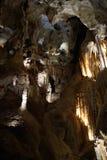 Estalagmita, cuevas de Jenolan Fotos de archivo