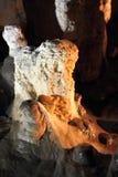 Estalagmita de la cueva Fotos de archivo