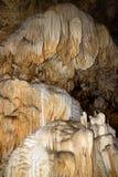 Estalagmita dentro de la cueva Foto de archivo libre de regalías