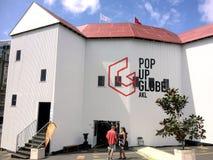 Estale ACIMA o teatro do globo em Auckland - Nova Zelândia fotos de stock