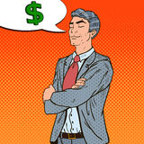 Estallido Art Businessman Dreaming About Money libre illustration