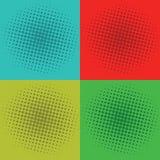 Estallido Art Squares Background Vector Template Imágenes de archivo libres de regalías