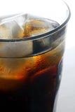 Estallido de soda con hielo Foto de archivo