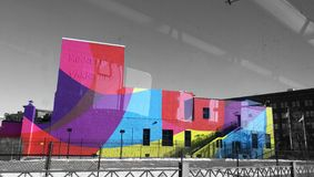 Estallido del color Imágenes de archivo libres de regalías