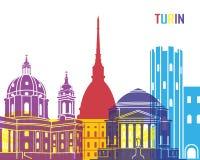 Estallido del horizonte de Turín libre illustration