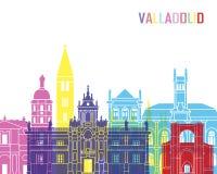 Estallido del horizonte de Valladolid Fotografía de archivo