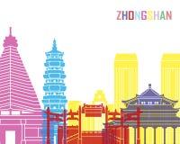 Estallido del horizonte de Zhongshan Fotografía de archivo