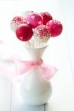 Estallidos de la torta de boda Fotografía de archivo