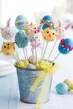 Estallidos de la torta de Pascua Foto de archivo libre de regalías