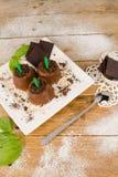 Estallidos del chocolate imagen de archivo libre de regalías