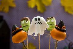 Estallidos dulces de la torta de Halloween Fotografía de archivo