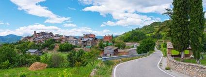 Estamariu in comarca of Alt Urgell,  Catalonia, Spain. Stock Photos