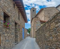 Estamariu, comarca of Alt Urgell, Lleida, Catalonia, Spain. Estamariu is a municipality in the comarca of Alt Urgell, Lleida, Catalonia, Spain stock images