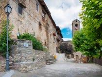 Estamariu in comarca of Alt Urgell,   Spain. Stock Photo