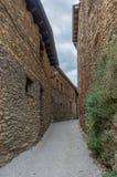Estamariu, comarca di alt Urgell, Lleida, Catalogna, Spagna Fotografia Stock