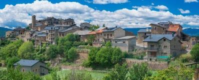 Estamariu, comarca di alt Urgell, Lleida, Catalogna, Spagna Immagine Stock Libera da Diritti