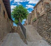 Estamariu, comarca di alt Urgell, Lleida, Catalogna, Spagna Immagine Stock