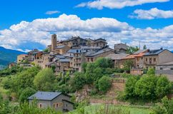 Estamariu, comarca van Alt Urgell, Lleida, Catalonië, Spanje royalty-vrije stock foto's